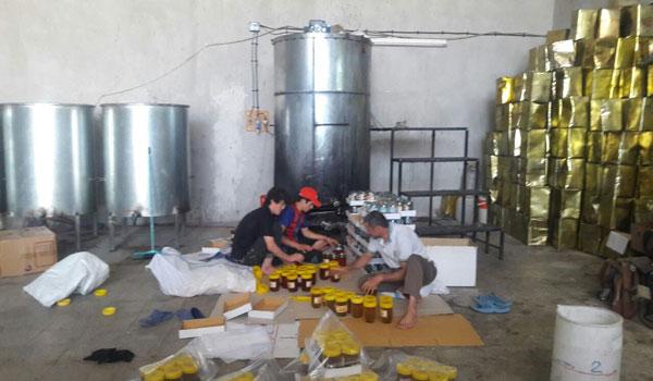 کارگاه عسل تقلبی