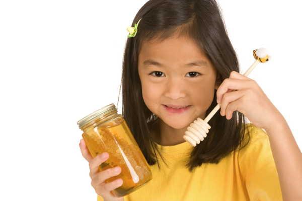 عسل برای کودکان